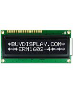 3.3V-5V 16X2 1602 Character LCD Display,White on Black,High Contrast