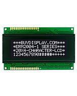 3.3V/5V 20x4 Character LCD Display Module,White on Black,High Contrast