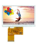 4.3 inch 480x272  TFT LCD TouchScreen display Module for MP4,GPS
