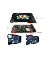 4.3 inch 800x480 TFT LCD Arduino Shields Tutorial,SSD1963 for Mega Due