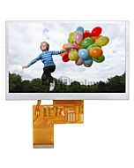5.0 inch 480x272 TFT LCD Module Touch Screen Display for MP4,GPS