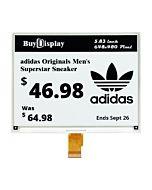 5.83 inch ePaper 648x480 e-Ink Display Panel White Black