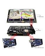 5 inch TFT Display Arduino Touch Shield SSD1963 Library for Mega Due
