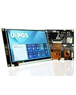 "5""TFT LCD Display Capacitive Touchscreen w/RA8875 Controller 480x272"