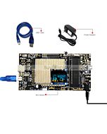 8051 Microcontroller Development Board for OLED Display 0.96 oled display with breakout board