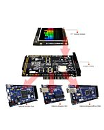 Arduino 1.8 inch TFT LCD Touch Shield ILI9163,Library for Mega Due Uno