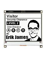Black 4.2 inch e-Ink Display Module