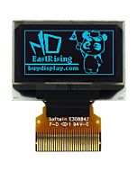 Blue 128x64 0.96 inch OLED Display Top Contact Connector FPC SSD1306