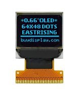 blue Serial I2C 0.66 Very Smalll SPI OLED Display Module 64x48 SSD1306