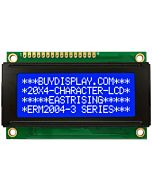Blue Small Size 20x4 LCD Module Display