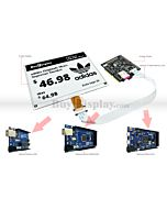 Connect Black 5.83 inch 648x480 e-Paper Display to Arduino