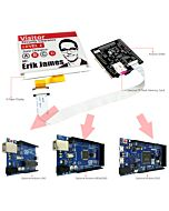 Connect Red 4.2 inch e-Paper Display Panel to Arduino