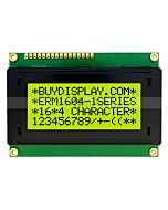 Dispaly 16x4 LCD Module Character,HD44780,Datasheet PDF,Black on YG