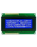 Display hd44780 Compatible 20x4 LCD Module,Bezel,White on Blue