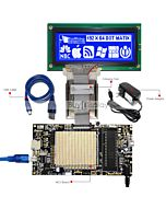 ER-DBM19264-1_MCU 8051 Microcontroller Development Board&Kit for ERM19264-1