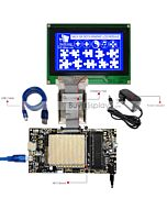 ER-DBM240128-2_MCU 8051 Microcontroller Development Board&Kit for ERM240128-2
