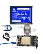 ER-DBM320240-2_MCU 8051 Microcontroller Development Board&Kit for ERM320240-2