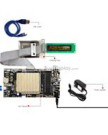 ER-DBOM2002-1_MCU 8051 Microcontroller Development Board&Kit for ER-OLEDM2002-1