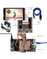 ER-DBT043-3_MCU 8051 Microcontroller Development Board&Kit for ER-TFT043-3