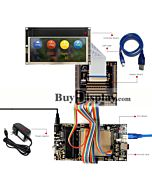 ER-DBT046-1_MCU 8051 Microcontroller Development Board&Kit for ER-TFT046-1