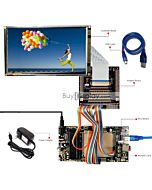 ER-DBT070-4_MCU 8051 Microcontroller Development Board&Kit for ER-TFT070-4