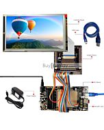 ER-DBT080-1_MCU 8051 Microcontroller Development Board&Kit for ER-TFT080-1