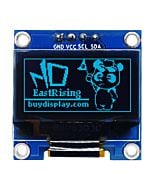 I2C Blue 0.96 inch OLED Display Module 128x64 Arduino,Raspberry Pi