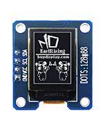 I2C White 0.73 inch OLED Display Module 128x88 Arduino,Raspberry Pi