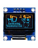 I2C Yellow Blue 0.96 inch OLED Display 128x64 Arduino,Raspberry Pi