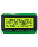 LCD Module 20x4 Display Datasheet Character,HD44780,Black on YG