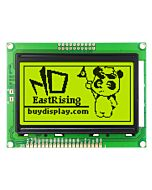 Low-Cost 12864 128x64 Graphic LCD Module Display Yellow Black Color
