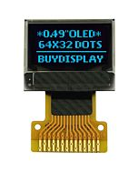 Low Power Smallest Blue 0.49 inch 64x32 OLED Module Display,SSD1306,SPI