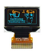 Serial OLED 0.96 inch I2C Display Module,Yellow+Blue with Connector FPC