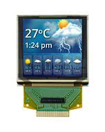 Serial SPI 1.5 inch Color OLED Display 128x128 Graphic Module,SSD1351