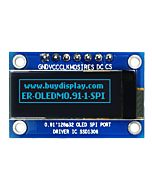 Serial SPI Blue 0.91 inch Arduino,Raspberry Pi OLED Display 128x32