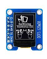 Serial SPI I2C White 0.73 inch Arduino,Raspberry Pi OLED Display 128x88