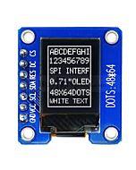 "0.49""OLED Display Module 64x32 Pixel,SSD1306,I2C,White on Black"