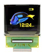 SPI 1.45 inch 160x128 Color RGB OLED Display Panel Free Viewing Angle