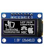 SPI White 1.09 inch OLED Display Module 128x64 Arduino,Raspberry Pi