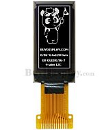 White 0.96 inch 64x128 OLED Display Screen SH1107 SPI I2C Interface