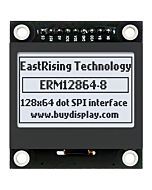 White 128x64 Graphic LCD Display Module,ST7567 Controller,SPI for Arduino