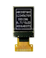 White Graphic 48x64 0.71 inch I2C IIC Serial OLED Display SSD1306