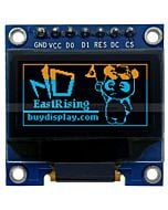 Yellow-Blue 0.96 inch OLED Display Breakout Board,Library for Arduino