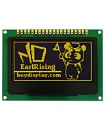 Yellow I2C OLED 2.4 inch Display Serial SPI 128x64 Graphic Display,SSD1309