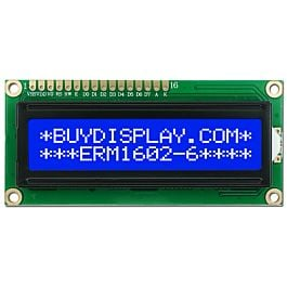5V Blue 20x2 Character LCD Module Display w//Tutorial,HD44780,White Backlight