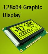 128x64 Graphic LCD