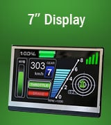 7 inch TFT Display